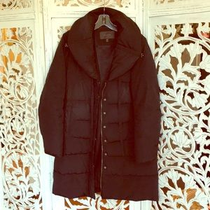 Tahari down quilt Coat